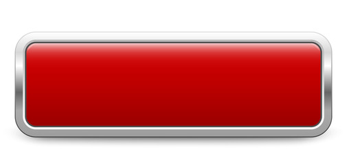 Long rectangular template - dark red metallic button