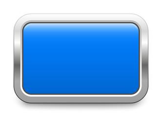 Rectangular template - blue metallic button