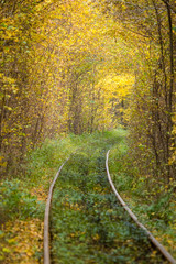 Old railway turn