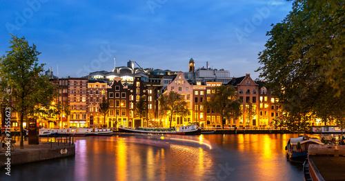 Fotobehang Amsterdam Skyline Amsterdam