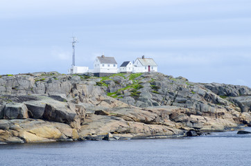 A coastal landscape in the south east of Norway near Stavern
