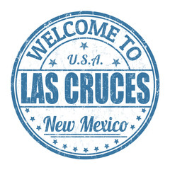 Welcome to Las Cruces stamp