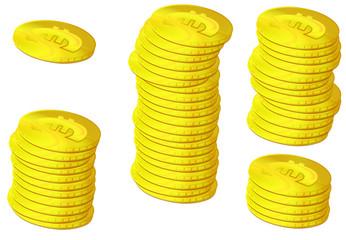 lot of money euro