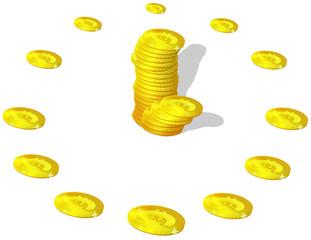 Euro watch money