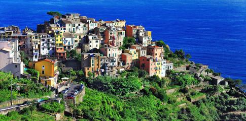 Corniglia  - scenic village in Cinque terre, Italy