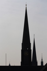 Hamburgs Kirchtürme