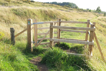 Countryside stile, in Somerset