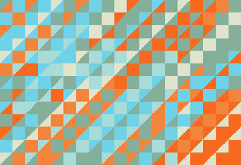 Abstract triangle vector texture pattern