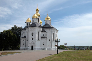 Orthodox church in Chernigiv, Ukraine