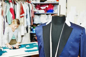 Male tailor portrait