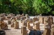 Tunisia. Ancient Carthage. The Tophet - open-air area with stela