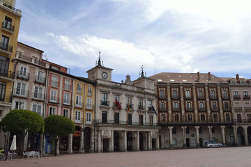 Plaza Mayor, Burgos, Spain