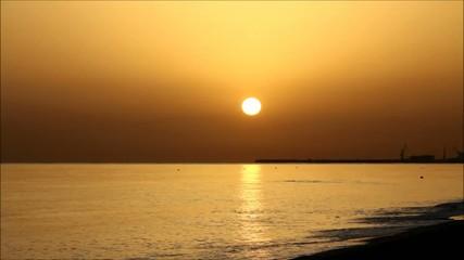 sunrise in Crete