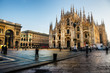 Milan Cathedral, Duomo and Vittorio Emanuele II Gallery, Italy