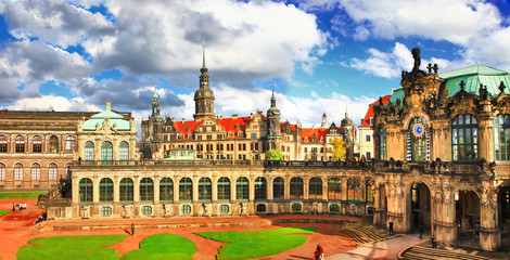 beautiful elegant Dresden, Zwinger museum