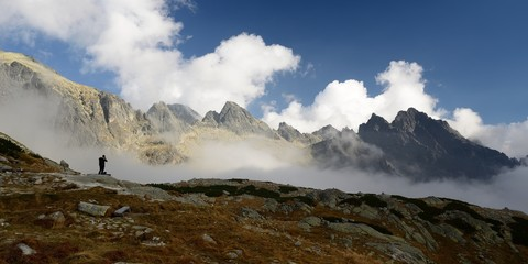 Making photographs of the High Tatras of Slovakia