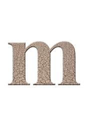 çatlaklı m harfi