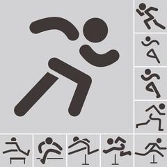 Running icons
