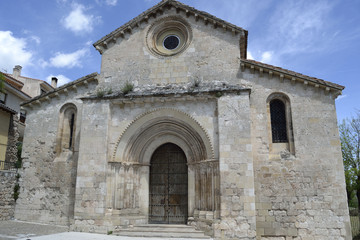 San Miguel church, Brihuega, Spain.