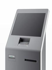 Modern atm machine