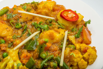 Mix vegetable masala