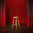 stool on a stage - 71564497