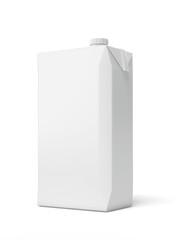 White Carton Package