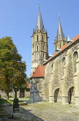Kolin, St. Bartholomew Gothic Cathedral is great Gothic building