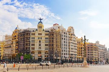 VALENCIA, SPAIN - SEPT 10: Cityscape of Valencia. September 10,