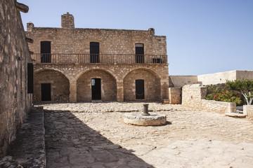 Courtyard at monastery of St. John Theologus
