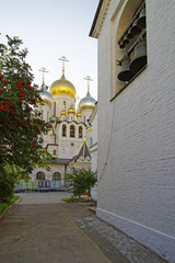 Cathedral of Nativity of Mary in Conception convent in Moscow wi