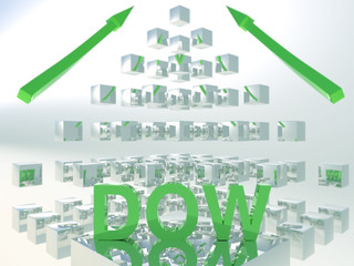 Dow Cube Concept Green