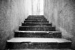 Old scary stone stairs