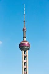 Shanghai Oriental pearl TV tower.