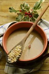 Soppa spannmål Minestra di cereali Soup cereal Суп зерновых