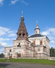 Spasoobydennaya church in Solvychegodsk