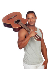Latin men with a guitar