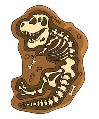 Dinosaurs Fosil