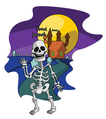 Skeleton Haloween