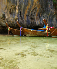 boats in sea Thailand