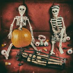 Vintage Halloween Scene 1