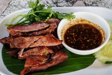 Pork rind, Pork scratchings, Pork crackling in Thailand