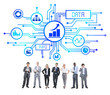 Business People and Data Concepts