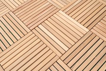 wood brown block plank for floor decoration