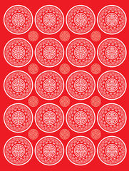 Classic oriental traditional background pattern