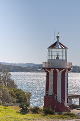 The lighthouse in Sydney Watson Bay