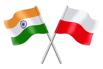 Flags: India and Poland