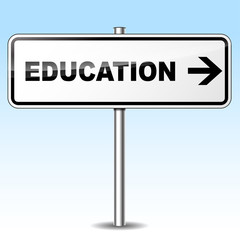 education sign