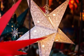 Beleuchteter Weihnachtsstern