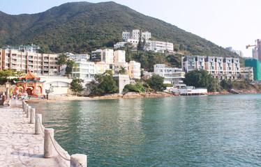 Repulse Bay beach in Hong Kong